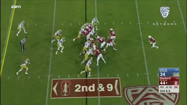 Watch Highlights: Stanford football dominates UCLA in second half behind Bryce Love's big night GIF on Gfycat. Discover more Football, Stanford, UCLA, sp:dt=2017-09-23T22:30:00-04:00, sp:li=cfb, sp:st=football, sp:ti:away=UCLA, sp:ti:home=Stan, sp:ty=high, sp:vl=en-US GIFs on Gfycat