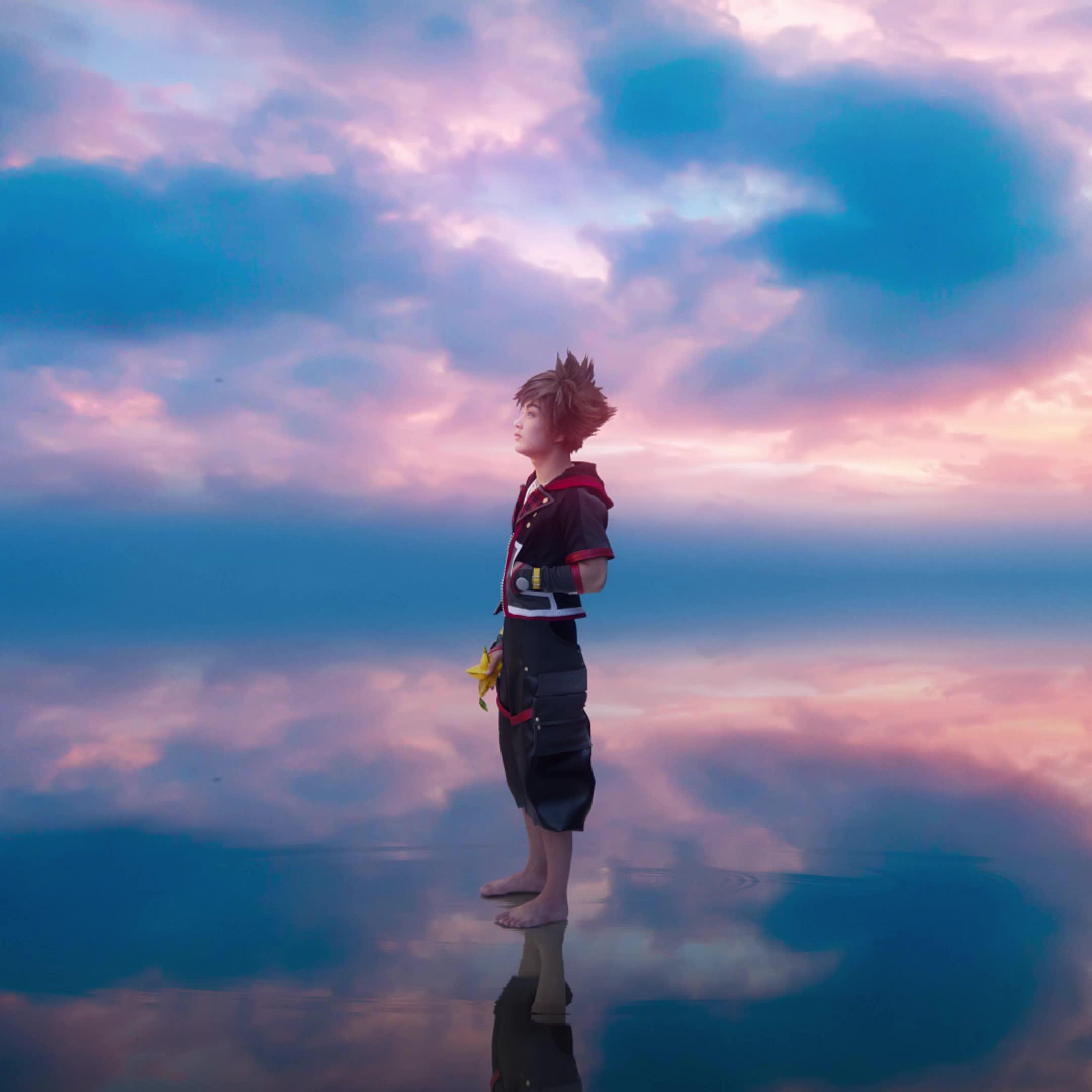 anime, cosplay, disney, kh, kh3, kingdomhearts, kingdomhearts3, sora, squareenix, Kingdom Hearts 3 - Sora Cosplay Photomotion ft. MrDustinn GIFs