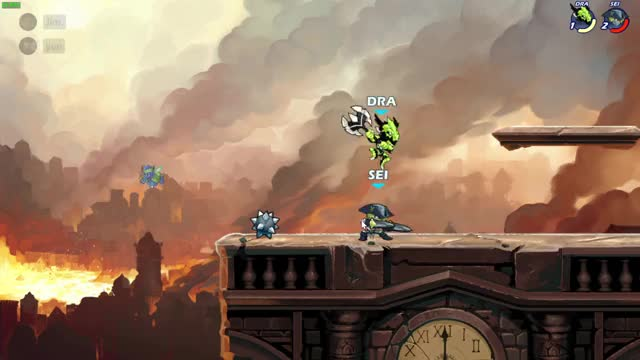 Watch and share Brawlhalla Katar String. GIFs by bonquiqui on Gfycat
