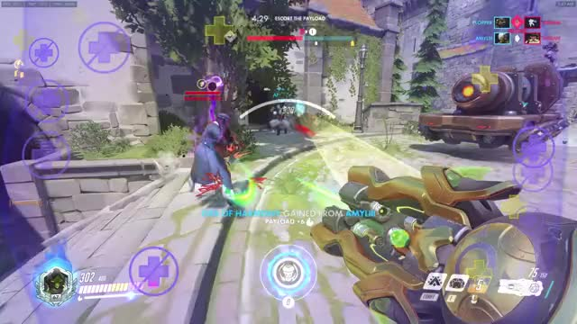 Watch and share Meteor Strike GIFs and Overwatch GIFs by R3P on Gfycat