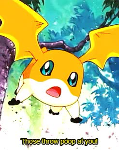 Watch and share Patamon 02 GIFs and Digimon GIFs on Gfycat