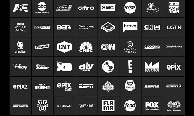 Watch and share Sling Tv Channels animated stickers on Gfycat