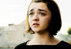 Watch and share Maisie Williams GIFs and Arya Stark GIFs on Gfycat