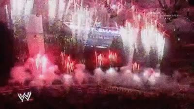 Watch Wrestlemania 23 pyro HD GIF on Gfycat. Discover more related GIFs on Gfycat