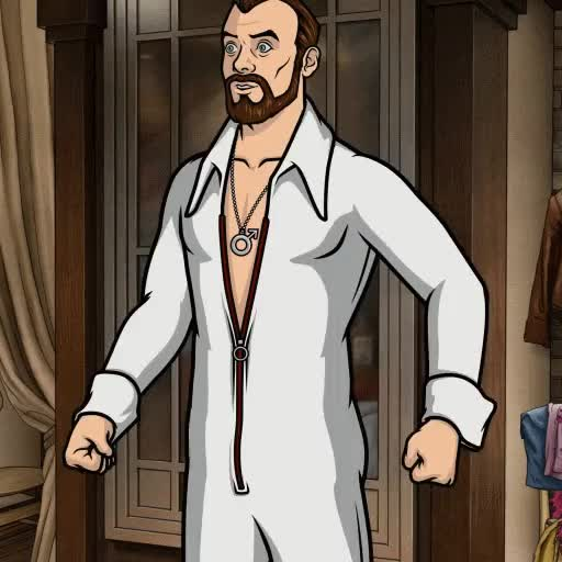 Watch Krieger feeling amazing GIF by @coolathlon on Gfycat. Discover more Archer, animation, jumpsuit GIFs on Gfycat
