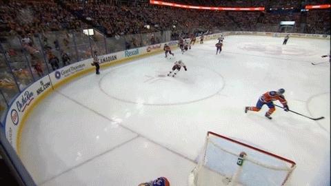 edmontonoilers, hockey, Michael Frolik (1) Wrist shot - ASST: Matt Stajan (1) GIFs