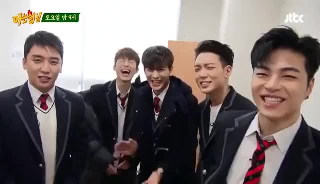 Watch and share Seungri And IKON Ready For Knowing Brother GIFs on Gfycat