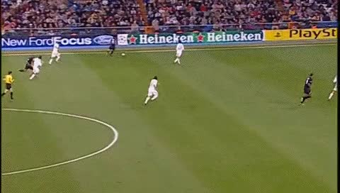 Watch John Carew. Real Madrid - Lyon. 23.11.2005 GIF by @fatalali on Gfycat. Discover more related GIFs on Gfycat
