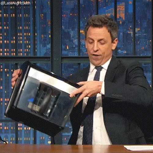 Watch Seth Meyers Shred GIF on Gfycat. Discover more Late Night with Seth Meyers, seth meyers GIFs on Gfycat