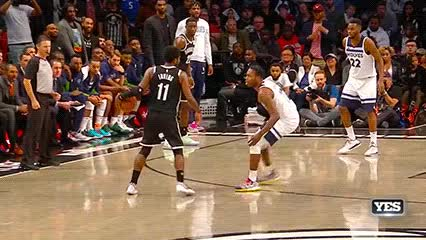 Watch and share Kyrie Irving — Brooklyn Nets GIFs by Off-Hand on Gfycat