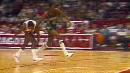 Watch Sidney Moncrief and Paul Pressey — Milwaukee Bucks GIF by Off-Hand (@off-hand) on Gfycat. Discover more related GIFs on Gfycat
