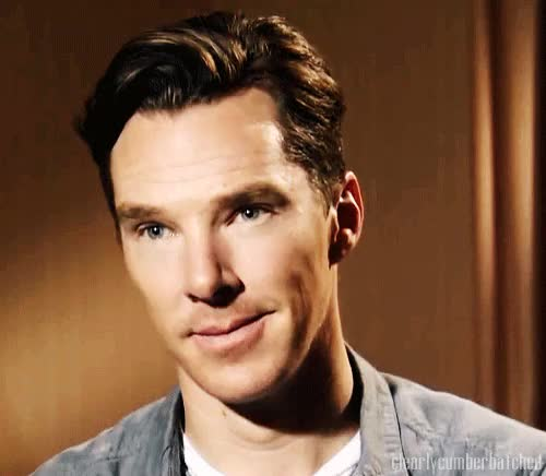 Watch and share Because It's Benedict Cumberbatch, After All. GIFs on Gfycat