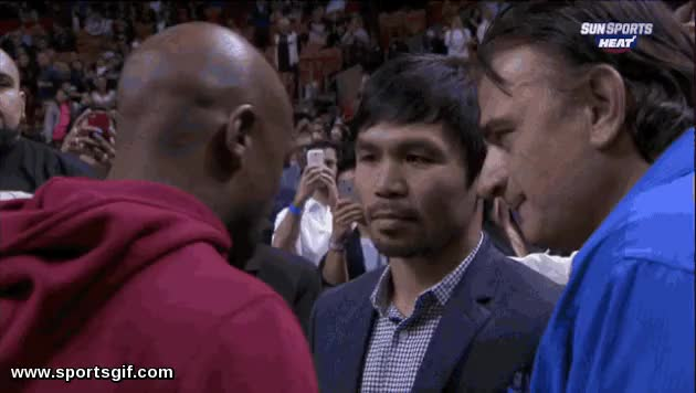 Watch Floyd Mayweather And Manny Pacquiao GIF on Gfycat. Discover more related GIFs on Gfycat