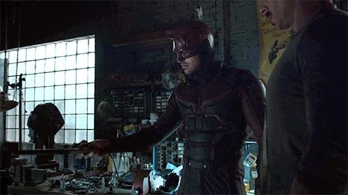 Daredevil, charlie cox, daredevil, Daredevil twirl GIFs
