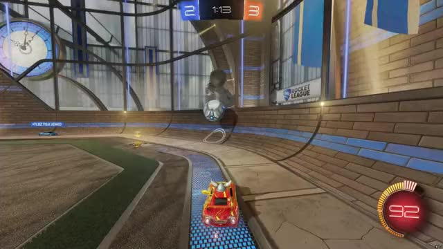 Watch Rocket League celing shot GIF on Gfycat. Discover more related GIFs on Gfycat