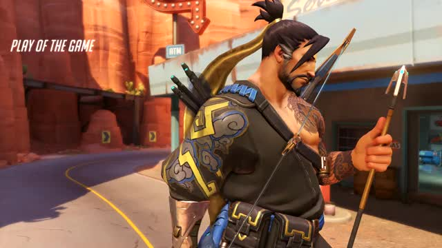 Watch and share Overwatch GIFs and Hanzo GIFs by umbonia on Gfycat