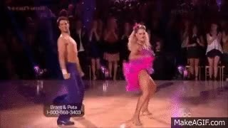 Watch Brant Daugherty and Peta Murgatroyd - Salsa - Dancing with the Stars - Season 17 - Week 4 GIF on Gfycat. Discover more related GIFs on Gfycat