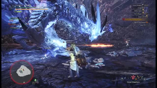 Watch MHW epic dive GIF on Gfycat. Discover more related GIFs on Gfycat