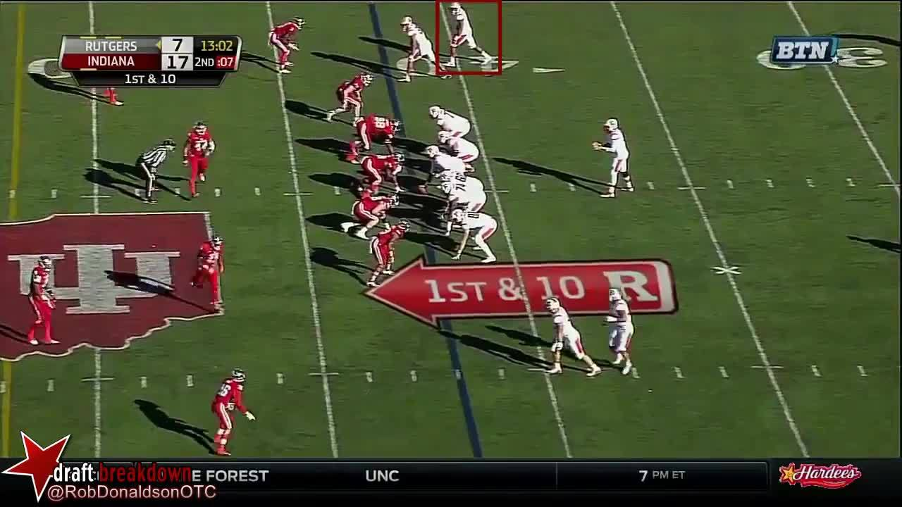 Leonte Carroo, Rutgers Scarlet Knights Football (American Football Team), Wide Receiver (Sports Position), Leonte Carroo (Rutgers WR) vs Indiana 2015 GIFs