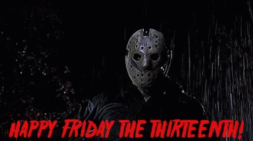 Watch and share Happy Friday The 13th GIFs on Gfycat