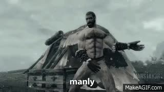 Watch and share We Are Manly Men GIFs on Gfycat