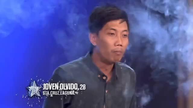 Watch and share Pilipinas Got Talent 2018 Auditions: Joven Olvido - Vape Tricks GIFs on Gfycat