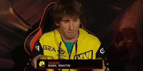 Watch and share Natus Vincere GIFs and Danil Ishutin GIFs on Gfycat