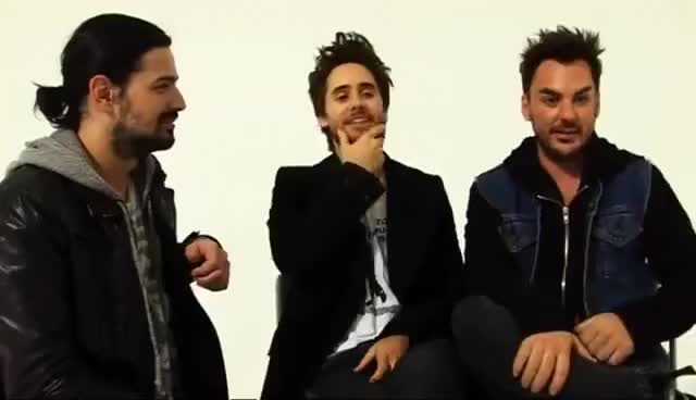 Watch and share 30 Seconds To Mars GIFs and Jared Leto GIFs on Gfycat