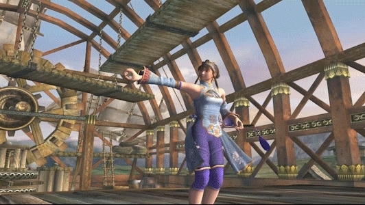 gaminggifs, Soul Calibur 2 - Xianghua - Exhibition Theater GIFs