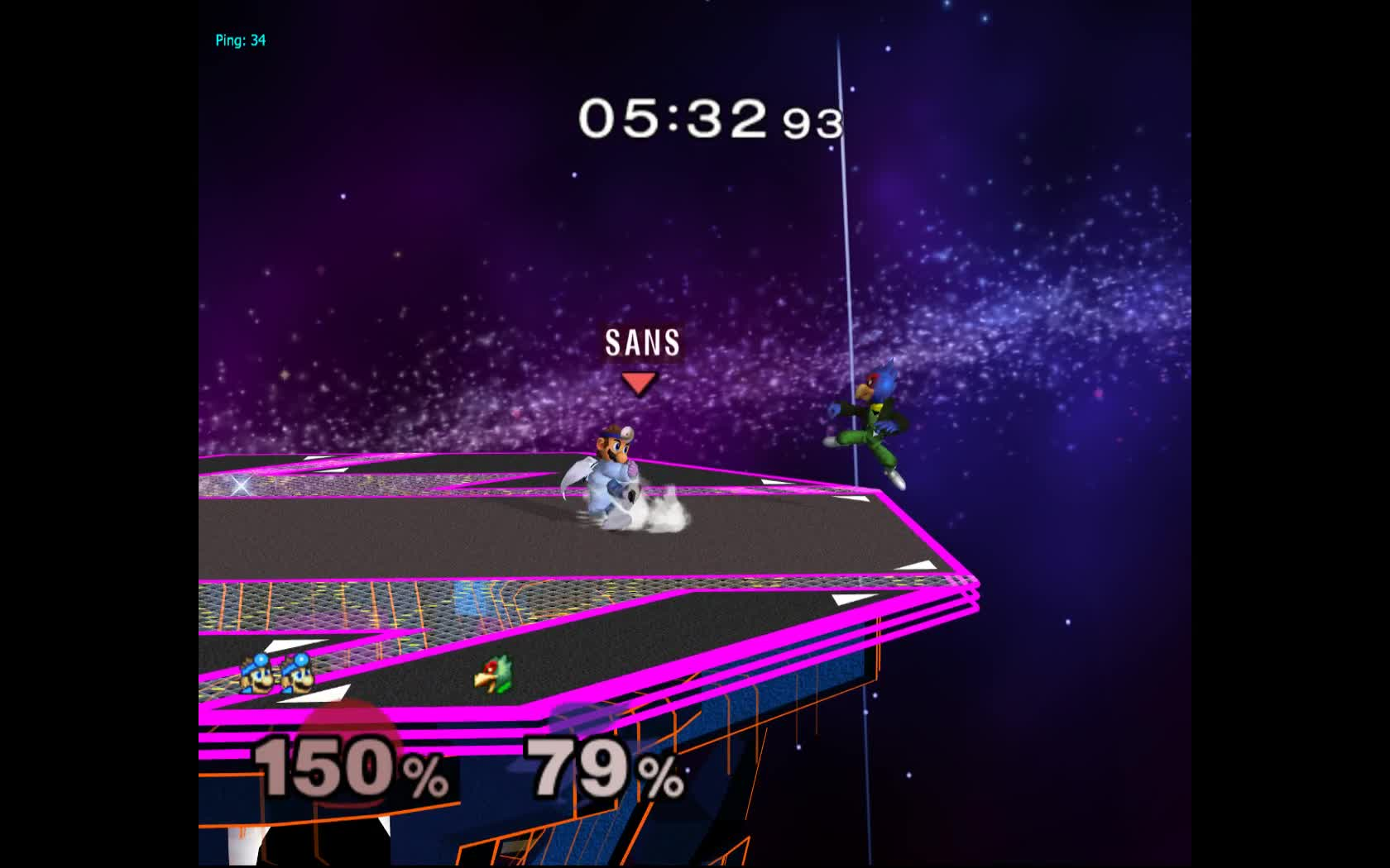 smashgifs, ssbm, ssmb, up smash f-air is cool GIFs