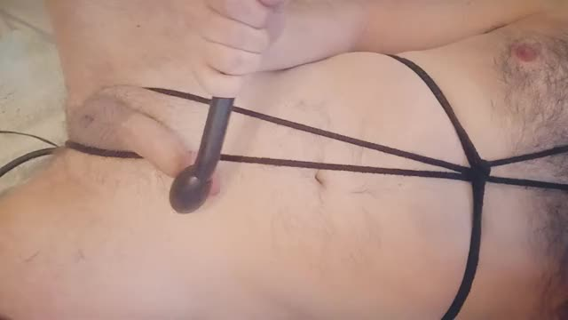 using my inflatable vibrating plug during the time that vibrating my rod leads to my hardest orgasms