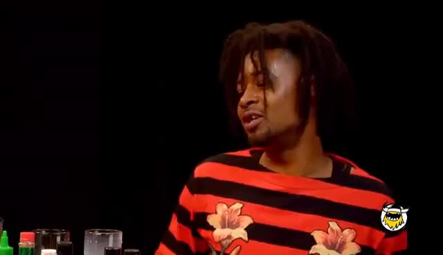 Watch and share Danny Brown Has An Orgasm Eating Spicy Wings | Hot Ones GIFs on Gfycat