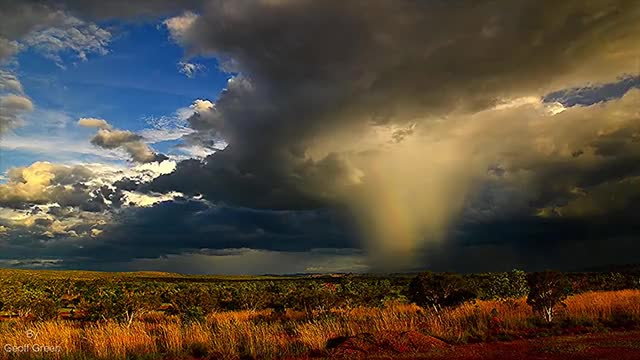 Watch and share Kimberley Skies Putting On A Monsoon Show Western Australia GIFs by peterm on Gfycat