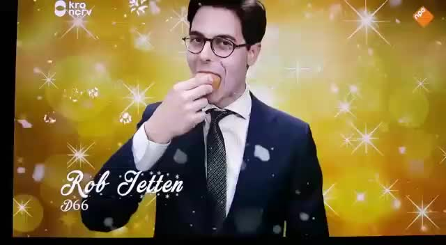 Watch and share Rob Jetten GIFs and Oliebol GIFs by 10341034 on Gfycat