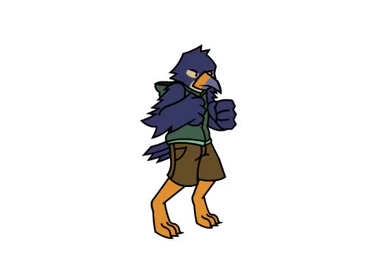 Watch and share Birb Fighter GIFs on Gfycat