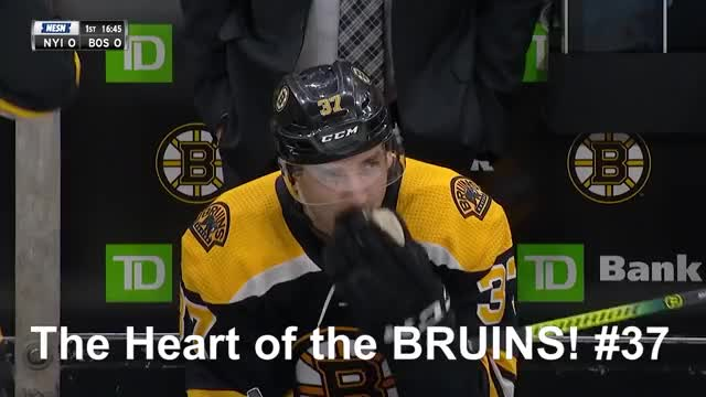 Patrice Bergeron Scores In 1 000th Nhl Game Gif Find Make Share