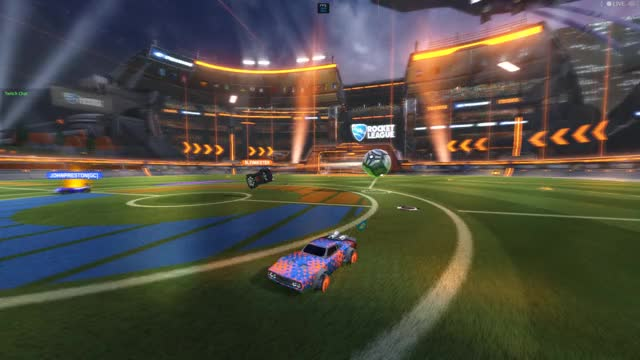 Watch aerial training paid off!! GIF by GStance (@gcsjr123) on Gfycat. Discover more goals, rocketleague, skill GIFs on Gfycat