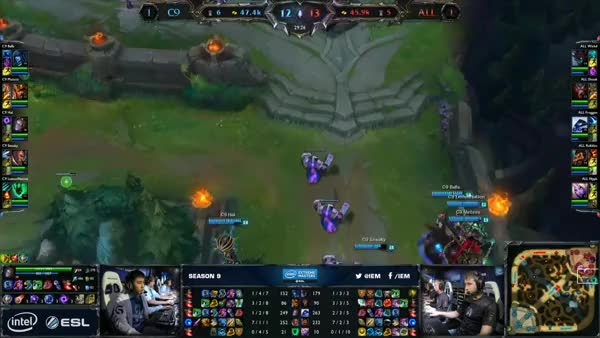 Meteos and Cloud9 destroy Alliance