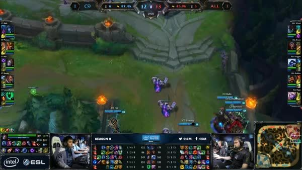Meteos and Cloud9 destroy Alliance GIFs