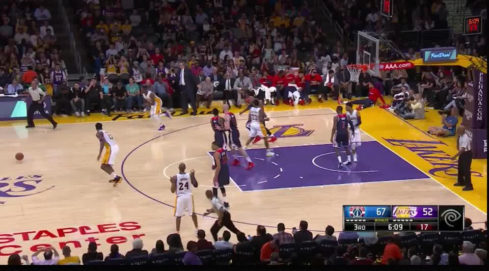 Lakers Spacing and Movement GIFs