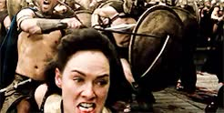 Watch and share Lena Headey GIFs and Queen Gorgo GIFs on Gfycat