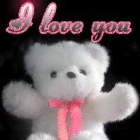 Watch and share Teddy Bear-I Love You GIFs on Gfycat