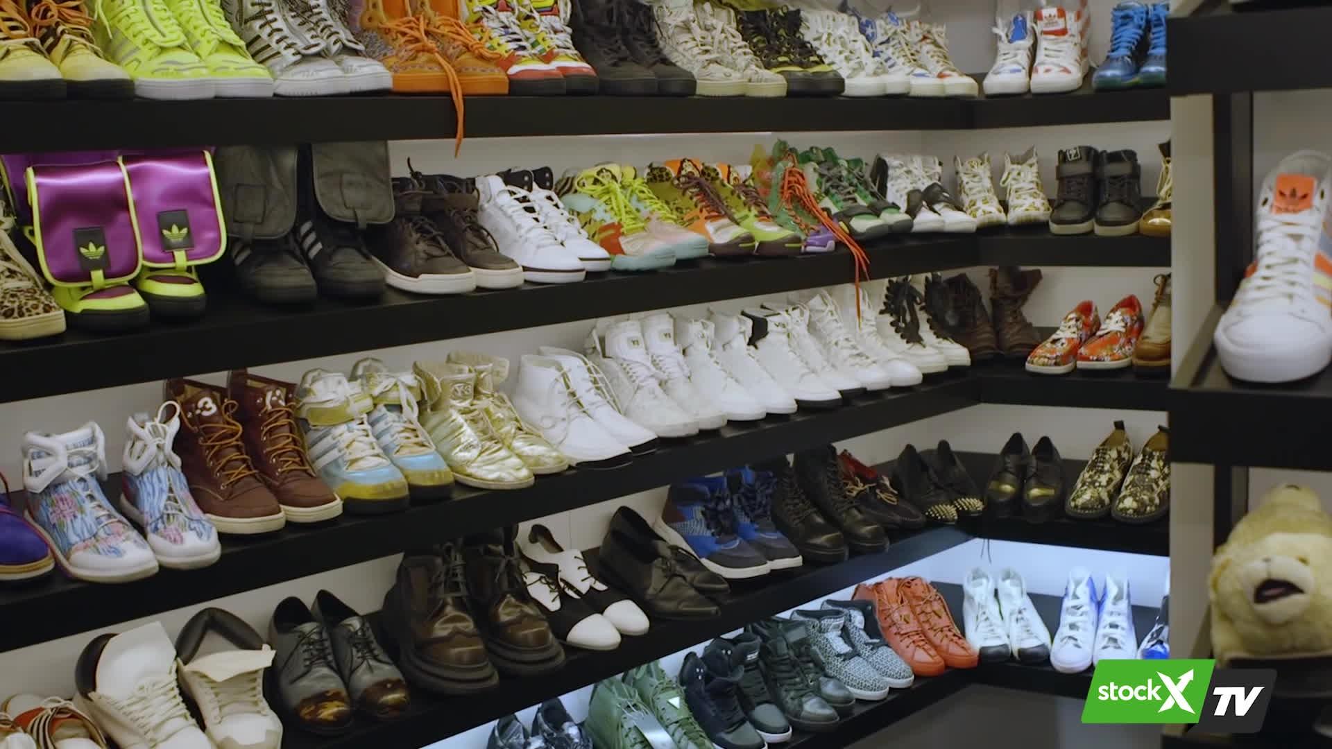 Steve Aoki gã DJ với bộ sưu tập giày như một giấc mơ
