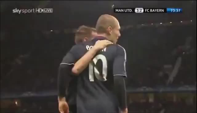 Watch and share Robben V Manchester United GIFs on Gfycat
