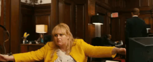 rebel wilson, Single GIFs