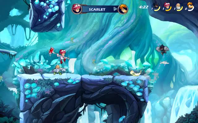 Watch and share Brawlhalla GIFs and Scarlet GIFs by Zuk on Gfycat