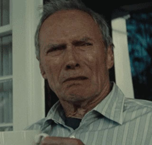 Watch and share Clint Eastwood GIFs and Funny GIFs by SKEZ520 on Gfycat