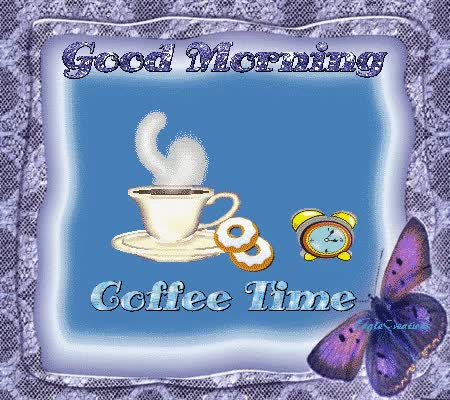 Watch and share Coffee Time GIFs on Gfycat