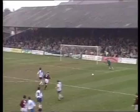 Watch Gillingham Football Club  Funny Back Pass   1993 (reddit) GIF on Gfycat. Discover more related GIFs on Gfycat