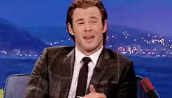 Watch and share Chris Hemsworth GIFs and Creations GIFs on Gfycat